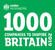 1000 Companies to Inspire Britain 2019